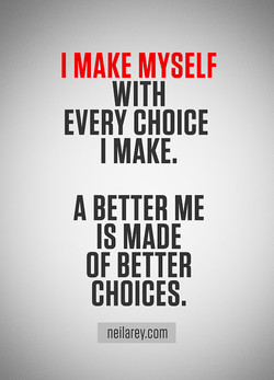 I MAKE MYSELF 