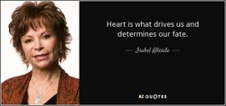 Heart is what drives us and 