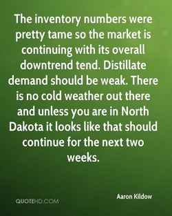 The inventory numbers were 