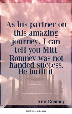 As his partner on 