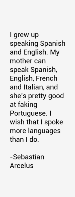 I grew up 