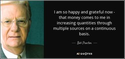 I am so happy and grateful now - 