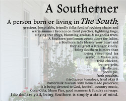 A Southerner 