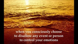 whemyou consciously choose 
