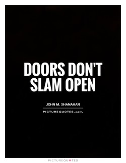 DOORS DON'T 