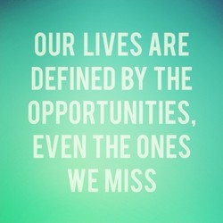 OUR LIVES ARE 