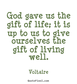 God gave us the 