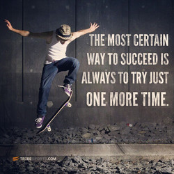 THE MOST CERTAIN 