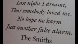 Lost night 1 dreamt, 