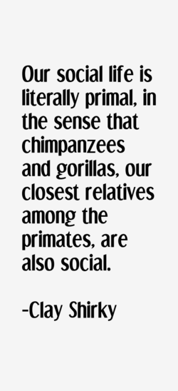 Our social life is 