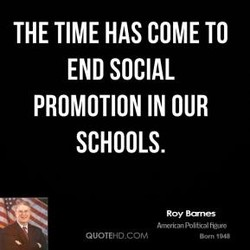 THE TIME HAS COME TO 
