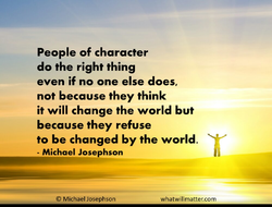 People of character 