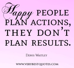 / PEOPLE PLA ACTIONS, THEY DON'T PLAN RESULTS. DENIS WAITLEY www.VERYBESTQUOTES.COM