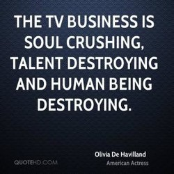 THE TV BUSINESS IS 