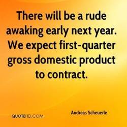 There will be a rude 