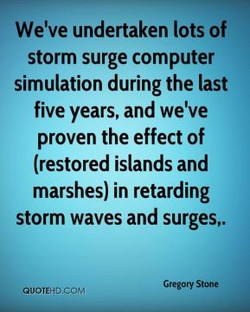 We've undertaken lots of 
