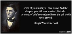 Some of your hurts you have cured, And the 