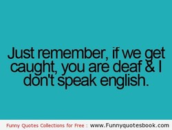 Just remember, if we aet 