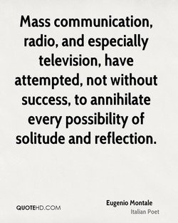 mass communication, 