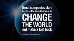 Great companies start 