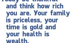 and think how rich 