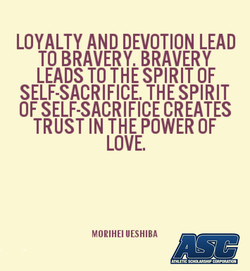 LOYALTY AND DEVOTION LEAD 