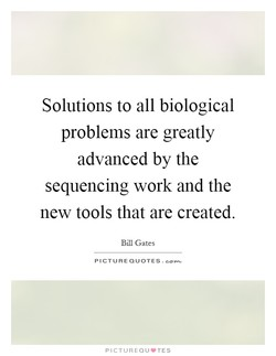 Solutions to all biological 