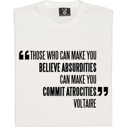 BELIEVE ABSURDITIES 