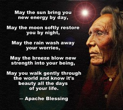 May the sun bring you • 