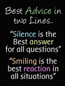 Best Advice 