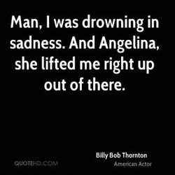 Man, I was drowning in 