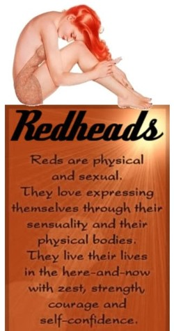 Reds are physical 