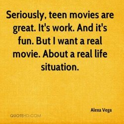 Seriously, teen movies are 