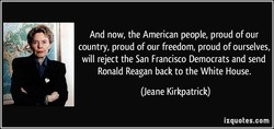 And now, the American people, proud of our 