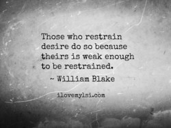 Those who restrain 