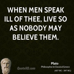 WHEN MEN SPEAK 