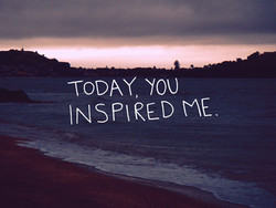 ToDAY, YOU 