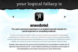 your logical fallacy is 