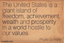 The United States is a 