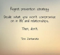 Regret prever&n strategy: 