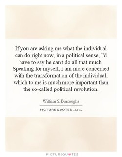 If you are asking me what the individual 