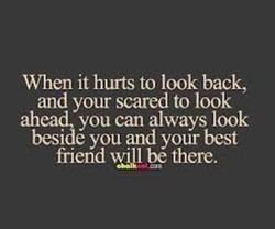 When it hurts to look back, 