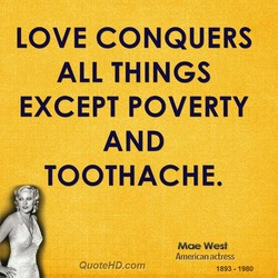 LOVE CONQUERS 