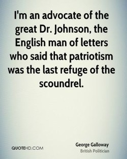 I'm an advocate of the 