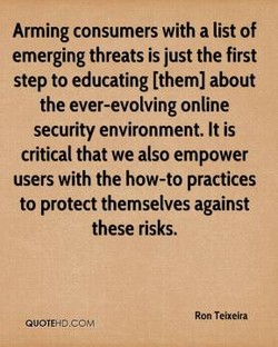 Arming consumers with a list of 