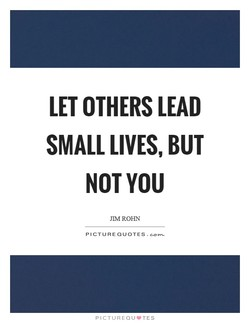 LET OTHERS LEAD 