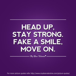 HEAD UP, 