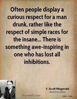 Often people display a 