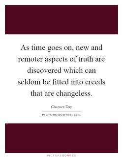 As time goes on, new and 