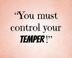 'You must 